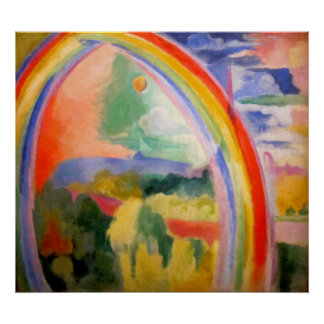 The Rainbow by Robert Delaunay Posters