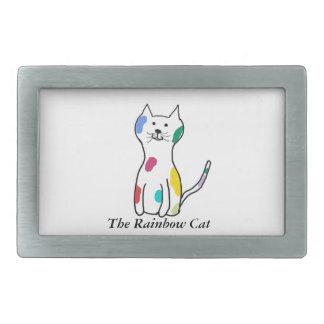 The Rainbow Cat Belt Buckles