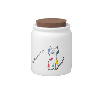 The Rainbow Cat Candy Jar