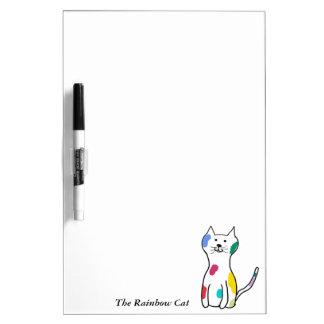 The Rainbow Cat Dry-Erase Whiteboard