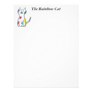 The Rainbow Cat Letterhead