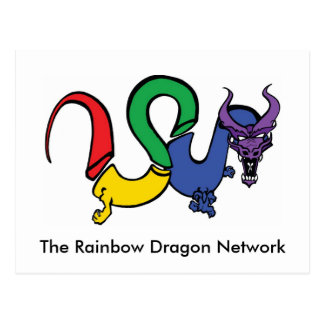 The Rainbow Dragon Postcard