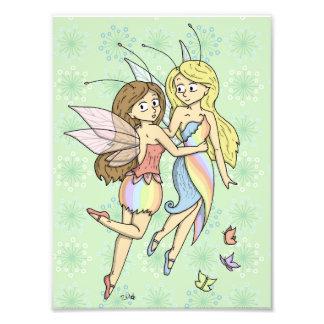 The Rainbow Fairies Photographic Print