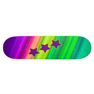 The Rainbow Skateboard