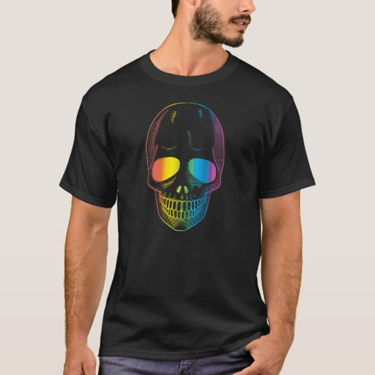 The Rainbow Skull T-Shirt