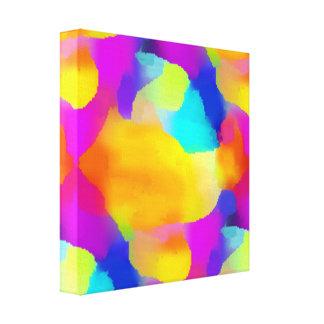The Rainbow Star Canvas Print