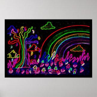 The Rainbow Tree Posters
