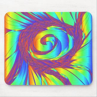 The Rainbow Whirlpool Mouse Pad