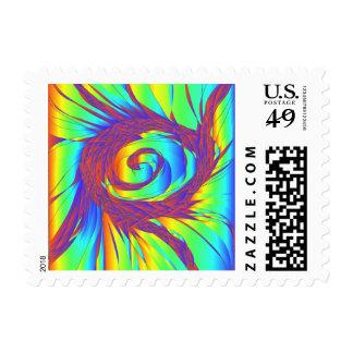 The Rainbow Whirlpool Stamp