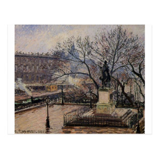 The Raised Tarrace of the Pont Neuf and Statue Postcard
