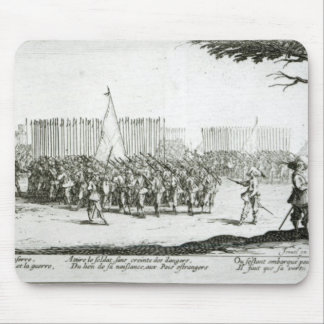 The Raising of an Army Mouse Pad