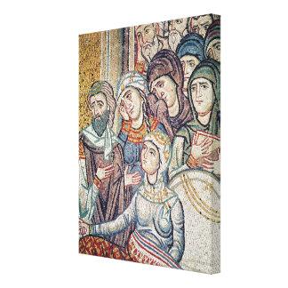 The Raising of Jairus's Daughter Canvas Prints