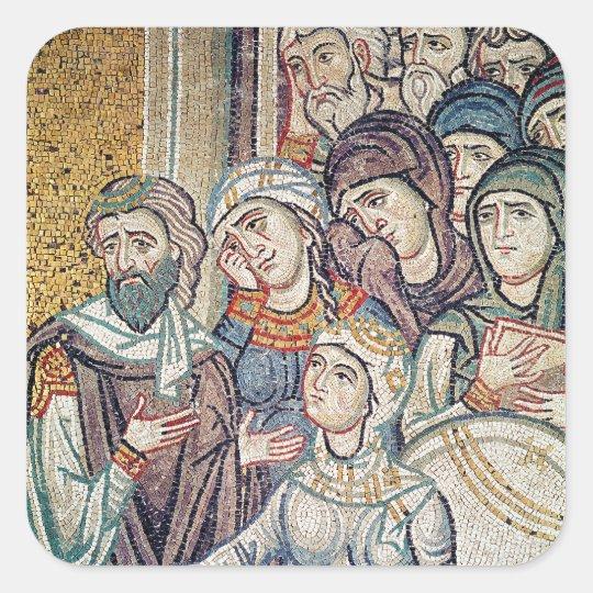 The Raising of Jairus's Daughter Square Sticker