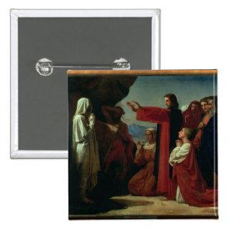 The Raising of Lazarus, 1857 Button