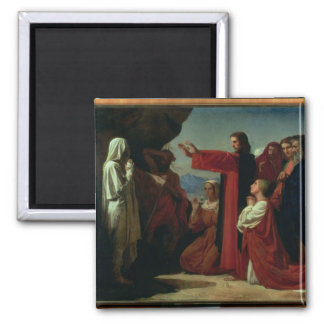 The Raising of Lazarus, 1857 Magnet