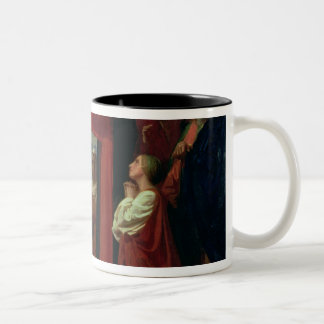 The Raising of Lazarus, 1857 Two-Tone Coffee Mug