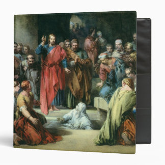 The Raising of Lazarus 3 Ring Binder