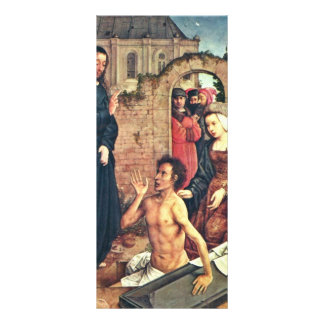 The Raising Of Lazarus By Flandes Juan De (Best Qu Rack Cards