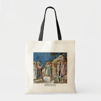 The Raising Of Lazarus By Giotto Di Bondone Bags