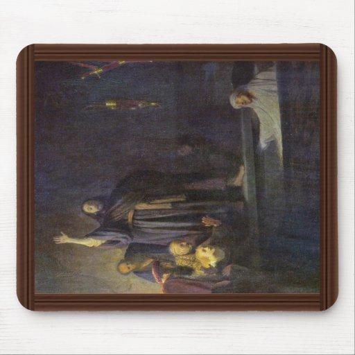 The Raising Of Lazarus. By Rembrandt Van Rijn Mouse Pad
