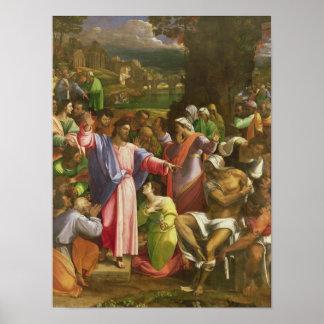 The Raising of Lazarus, c.1517-19 Poster