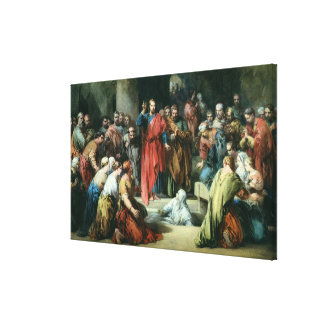 The Raising of Lazarus Gallery Wrapped Canvas