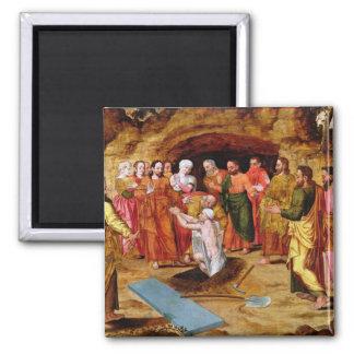 The Raising of Lazarus Magnet