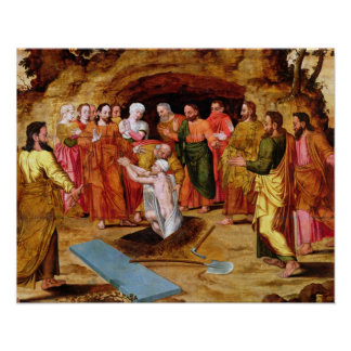 The Raising of Lazarus Poster