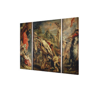 The Raising of the Cross, painted before 1609-10 ( Gallery Wrap Canvas