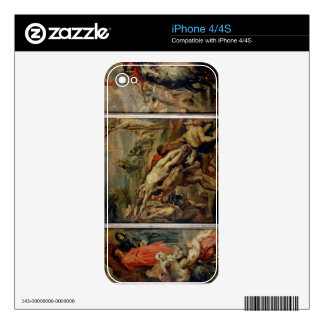 The Raising of the Cross, painted before 1609-10 ( iPhone 4 Decal