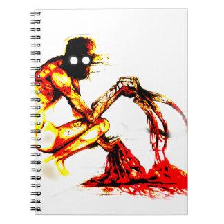 The Rake Spiral Notebook