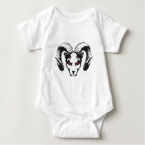 THE RAM COLLECTION BABY BODYSUIT