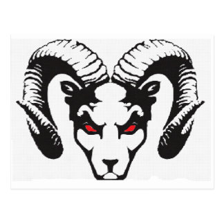 THE RAM COLLECTION POSTCARD