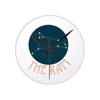 The Ram Round Clock