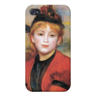 The Rambler by Pierre Renoir iPhone 4/4S Covers