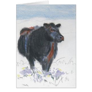 The rambler greeting card