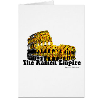 The Ramen Empire Greeting Card