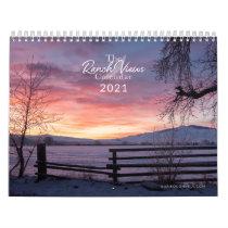 The Ranch Views Calendar - 2021