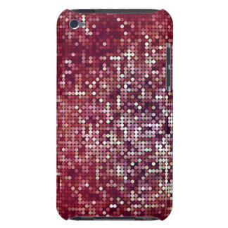 The Random of dots - red Barely There iPod Covers