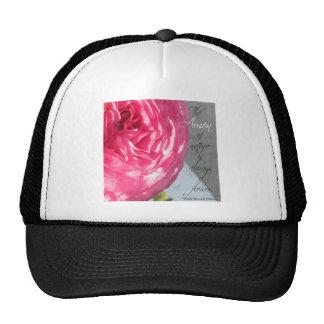 The Ranunculus Amen Flower Trucker Hat