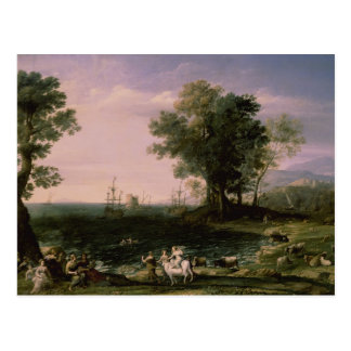 The Rape of Europa, 1655 Postcard
