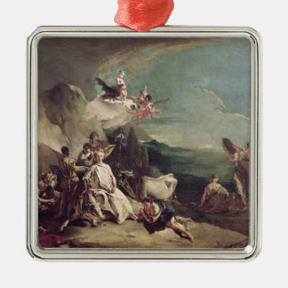 The Rape of Europa, 1720-21 Metal Ornament