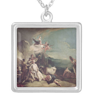 The Rape of Europa, 1720-21 Silver Plated Necklace