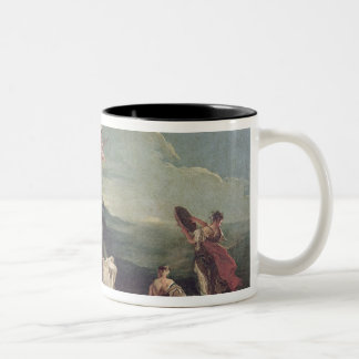 The Rape of Europa, 1720-21 Two-Tone Coffee Mug