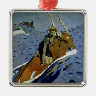 The Rape of Europa, 1910 Metal Ornament