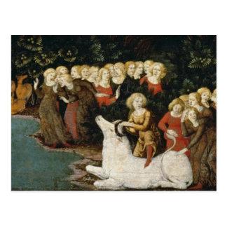 The Rape of Europa c 1470 oil on panel Postcards
