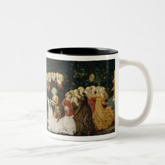 The Rape of Europa, c.1470 (oil on panel) Two-Tone Coffee Mug