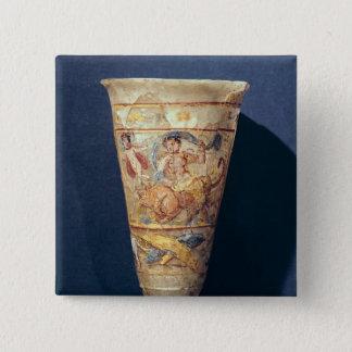The Rape of Europa, Greco-Buddhist Style Button