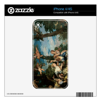 The Rape of Europa (oil on canvas) 2 Skins For iPhone 4S
