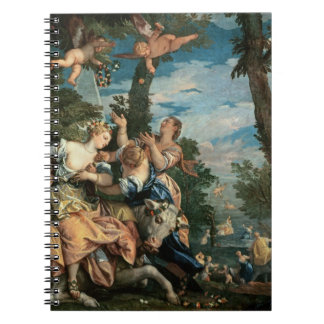 The Rape of Europa (oil on canvas) 2 Spiral Note Books